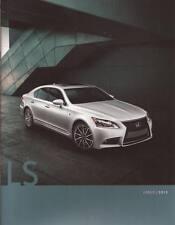 2013 13 Lexus LS  original sales brochure