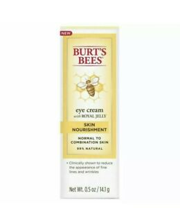 Burt's Bees Skin Nourishment Eye Cream with royal jelly  0.5 oz