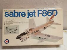 Entex 1:48 Sabre Jet F86D North American Model Kit 9009