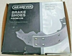 """Drum Brake Shoes WEAREVER S176 10"""" by 2"""" fit International Scout/Jeep/Studebaker"""