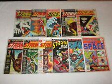 STRANGE ADVENTURES 220 226 228 231 235 242 & DC SUPER-STARS OF SPACE 6 8