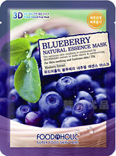 3D Food A Holic Super food Blueberry Natural Essence anti ageing face mask