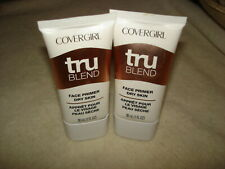 Covergirl Tru Blend Face Primer For Dry Skin :Lot Of 2 Brand New Tubes