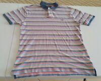 Rodd & Gunn Mens Striped Polo Shirt Original Fit Size Medium