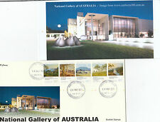 "2013 National Gallery set 5 booklet stamps on limited edition ""K"" Covers FDC"