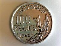 100 FRANCS 1958 (Chouette) Cochet F.450/13 - TTB++ (Cotation 230€)