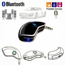 3.5mm AUX Car Bluetooth 4.2 Handsfree Speaker Music Audio Receiver Adapter Mic