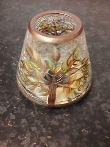 Yankee candle glass shade