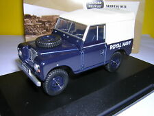 OXFORD DIECAST 1/43 LAND ROVER SERIES III SWB - ROYAL NAVY