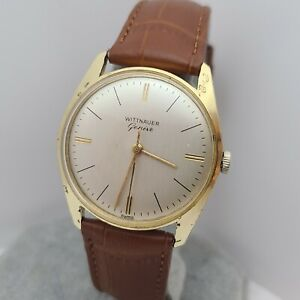 Vintage Longines Wittnauer 11KS/6502A Men's manual wind watch swiss made 1960s