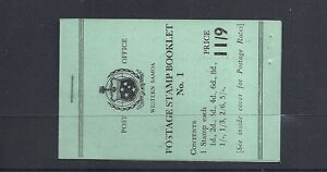 SAMOA 1962 booklet SG SB8 VF NH