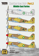 Wolfpack WD48021, Hawker Sea Fury Part.2 - Middle East Furies (DECALS SET), 1/48