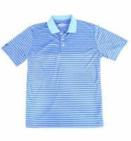 Brooks Brothers Mens Shirt Blue Size XL Polo Performance Striped $79 #585