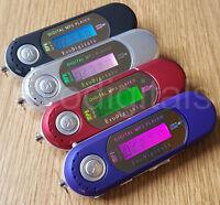 NEW EVO 8GB MP3 WMA USB MUSIC PLAYER WITH LCD SCREEN FM RADIO, VOICE RECORDER +