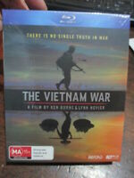 THE VIETNAM WAR A FILM BY KEN BURNS LYNN NOVICK BLU RAY massive 17Hours + Bonus