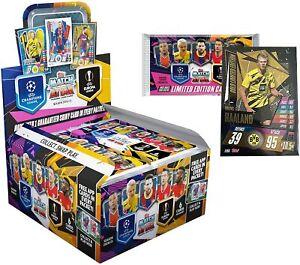 2020-21 TOPPS MATCH ATTAX CHAMPIONS LEAGUE CARDS 30pk BOX + LE HAALAND!