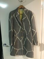 Authentic! Versace Coat/ Jacket , As New, Sz 42 Italian ( 12 Aust ) , RRP $2185