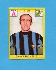 PANINI CALCIATORI 1968/69-Figurina - CELLA - INTER -Recuperata