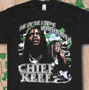 Chief Keef Rap Tee, Vintage Rap T-shirt, Hip Hop Men's Women Unisex Tees