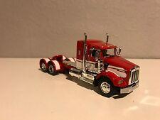 "NEW RED WHITE DCP 1/64 KENWORTH T800 W/ 36"" SLEEPER"