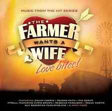 THE FARMER WANTS A WIFE Love Bites! Soundtrack CD NEW Calvin Harris Reece Mastin