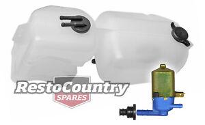 Holden Commodore Radiator Overflow /Washer Bottle + Pump VB VC VH reservoir tank
