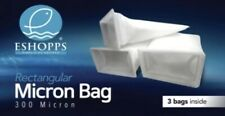 Eshopps Rectangular Micron Bags Filter Socks 300 Microns 3 bags