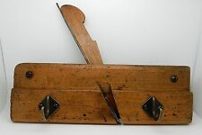 Antique English Molding Plane Wall Rack Hooks Keys Clothes Coats Mugs Kitchen