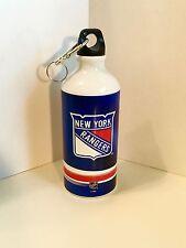 NHL New York Rangers Aluminum Water Bottle with Carabiner ~ 22 oz