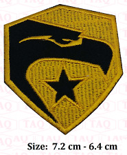 GI Joe  G I Joe Movie Eagle PATCH yellow Iron on / Sew on Embroidered Patch  #36