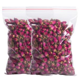 30g Fragrant Natural Red Rose Buds Rose Petals Dried Flowers by Cloe and Tom