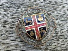 More details for royal berkshire hospital.badge scarce vintage nurses enamel badge(douglas bader)