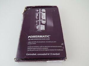 New Perko Powermatic R100-SCP Hydraulic Door Closer  Satin Chrome, VAT incl