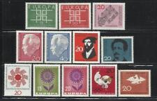 ALEMANIA, (R.F.A.). Año: 1963/4. Tema: TEMAS VARIOS. TIPOS DIVERSOS.