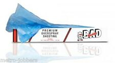 Bad Monkey 16' X 350' Blue Plastic Cling Sheeting  Compare to Norton 3345