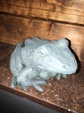 "Nib Nos Goose Creek Manufacturing 2701 Stone Garden Frog 6.5"" d x 5"" w x 3.75"" t"
