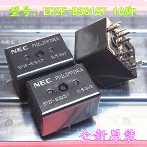 1Pc NEC EP2F-B3G1ST Automotive Relay 12VDC 30A 10 Pins