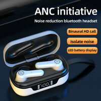 KE_ ANC Pro Bluetooth V5.1 Wireless Waterproof Headset Active Noise Reduction