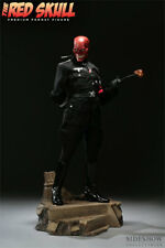 SIDESHOW THE RED SKULL PREMIUM FORMAT 1/4 STATUE FIGURE 7203