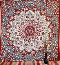 Boho Mandala Tapestry Wall Hanging Poster Home Decor Queen Size Bedspread