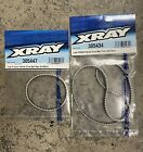 XRAY T4 305447 305434 Front Rear Low Friction White Drive Belt Set 16/17/18/19