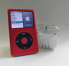 512GB iPod Classic 7th Gen | 3000mAh Battery & Flash Memory - Red/Black