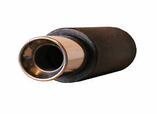 """4"""" STAINLESS STEEL TIP PERFORMANCE EXHAUST MUFFLER JAP CAN BACK BOX MF1638"""