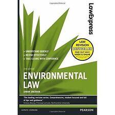 Law Express: Environmental Law by Simon Sneddon 9781292012919 (Paperback, 2014)