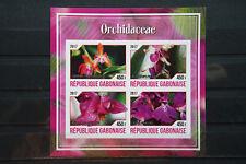 Orchideen 46 orchid Gabonaise Blumen flower Flora Pflanzen plants postfrisch MNH