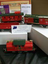 MTH Lionel Corp. No. 318E Beautiful Christmas Freight Set w/ Proto 3.0 & DCS New
