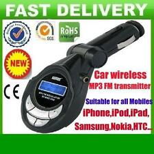 In car wireless MP3 FM radio transmitter foriPhone 3 3G 3GS 4 4S 5iPod Sony