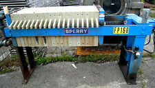 """Sperry 470MM (18""""), 3 cu ft, 20 Plate, HCP3 Hydraulic Filter Press, 100 PSI"""