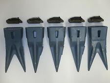Hensley Style 5 Pack 2-X290WT Twin Tiger & 3-X290T Tiger Teeth& 5-P290 Flex Pins