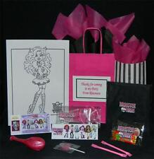 MONSTER HIGH PRE FILLED PARTY BAG PERSONALISED 15 GREAT ITEMS